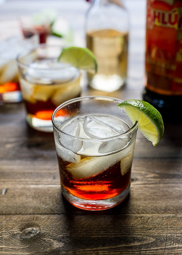 Pumpkin Spice Dark and Stormy | www.kitchenconfidante.com | Sip this twist on a classic Dark N Stormy!