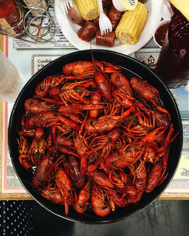 Scenes from Avery Island and Tabasco - www.kitchenconfidante.com - Crawfish