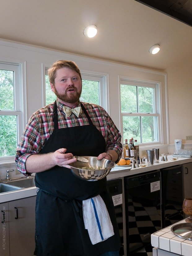 Scenes from Avery Island and Tabasco | www.kitchenconfidante.com | Mixologist Nick Detrich