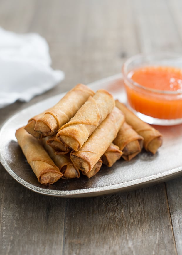 Lumpiang Shanghai - Filipino Spring Rolls (Lumpia) | www.kitchenconfidante.com | Get rolling - these spring rolls are a family favorite.