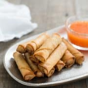 Lumpiang Shanghai - Filipino Spring Rolls (Lumpia) | www.kitchenconfidante.com | There's a reason why this is the hit of every Filipino family gathering!