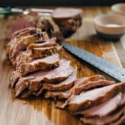 Adobo-Style Grilled Pork Tenderloin | www.kitchenconfidante.com | A simple marinade make this an easy, flavorful pork tenderloin - it will become a family favorite!