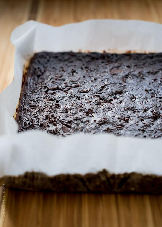 Zucchini Banana Brownies | www.kitchenconfidante.com | You'll never guess the secret ingredient in these fudgie brownies!