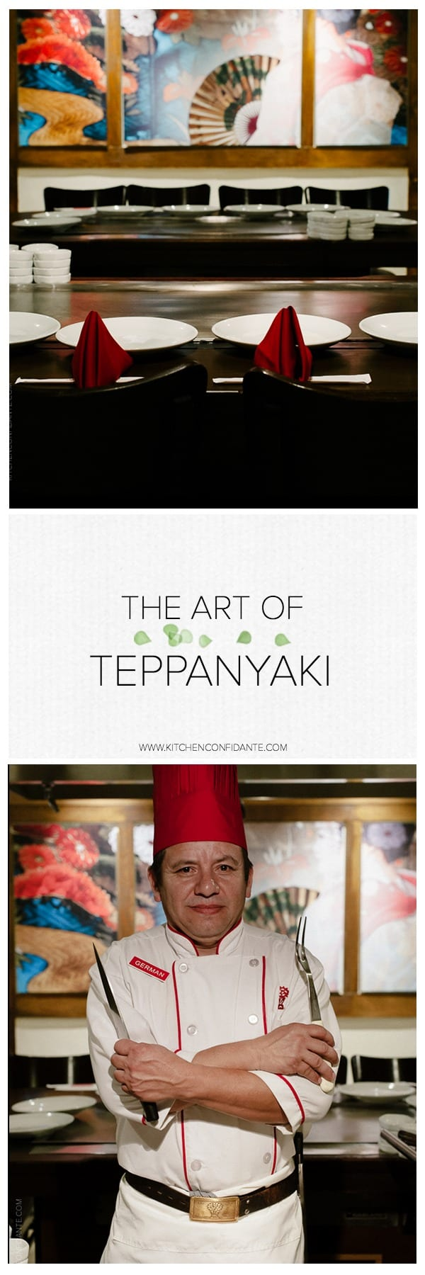 Art of Teppanyaki | www.kitchenconfidante.com | Come explore the Art of Teppanyaki.