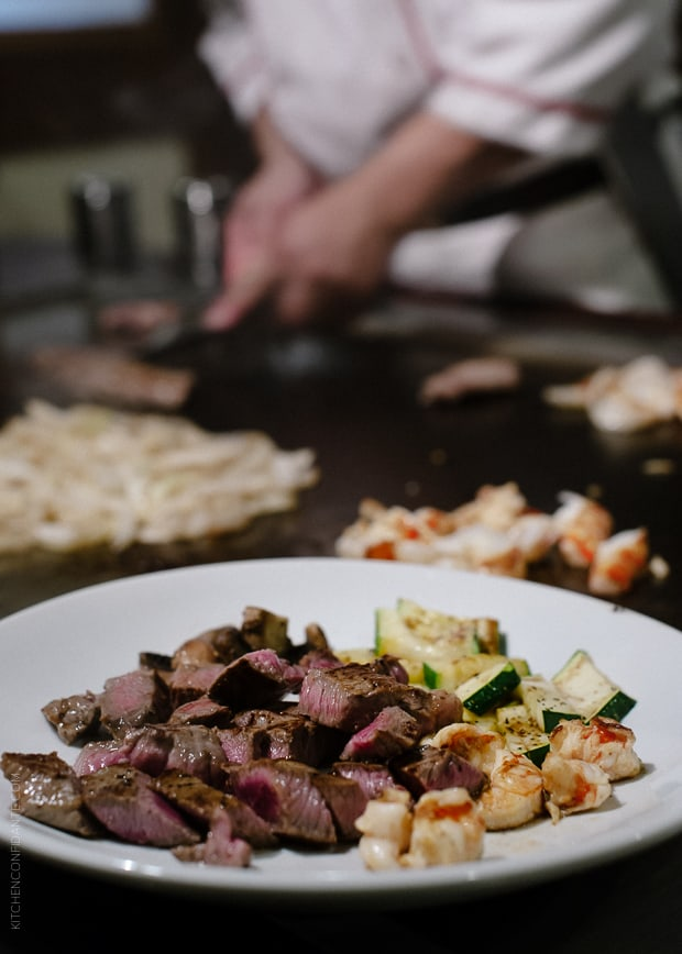The Art of Tappanyaki at Benihana | www.kitchenconfidante.com