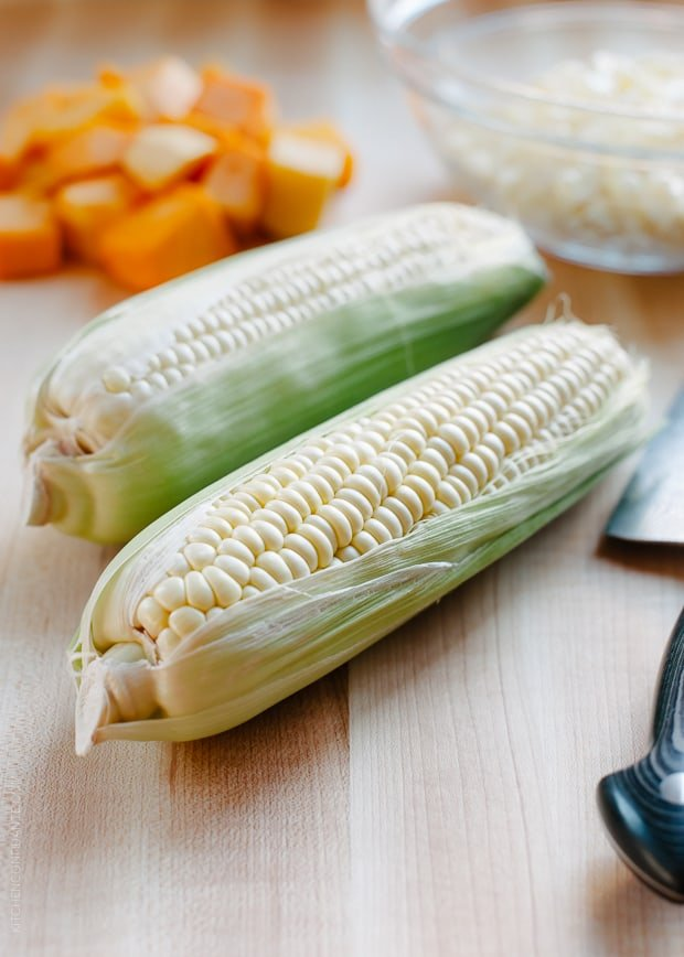 Give corn the royal fall treatment in this Butternut Squash Creamed Corn!