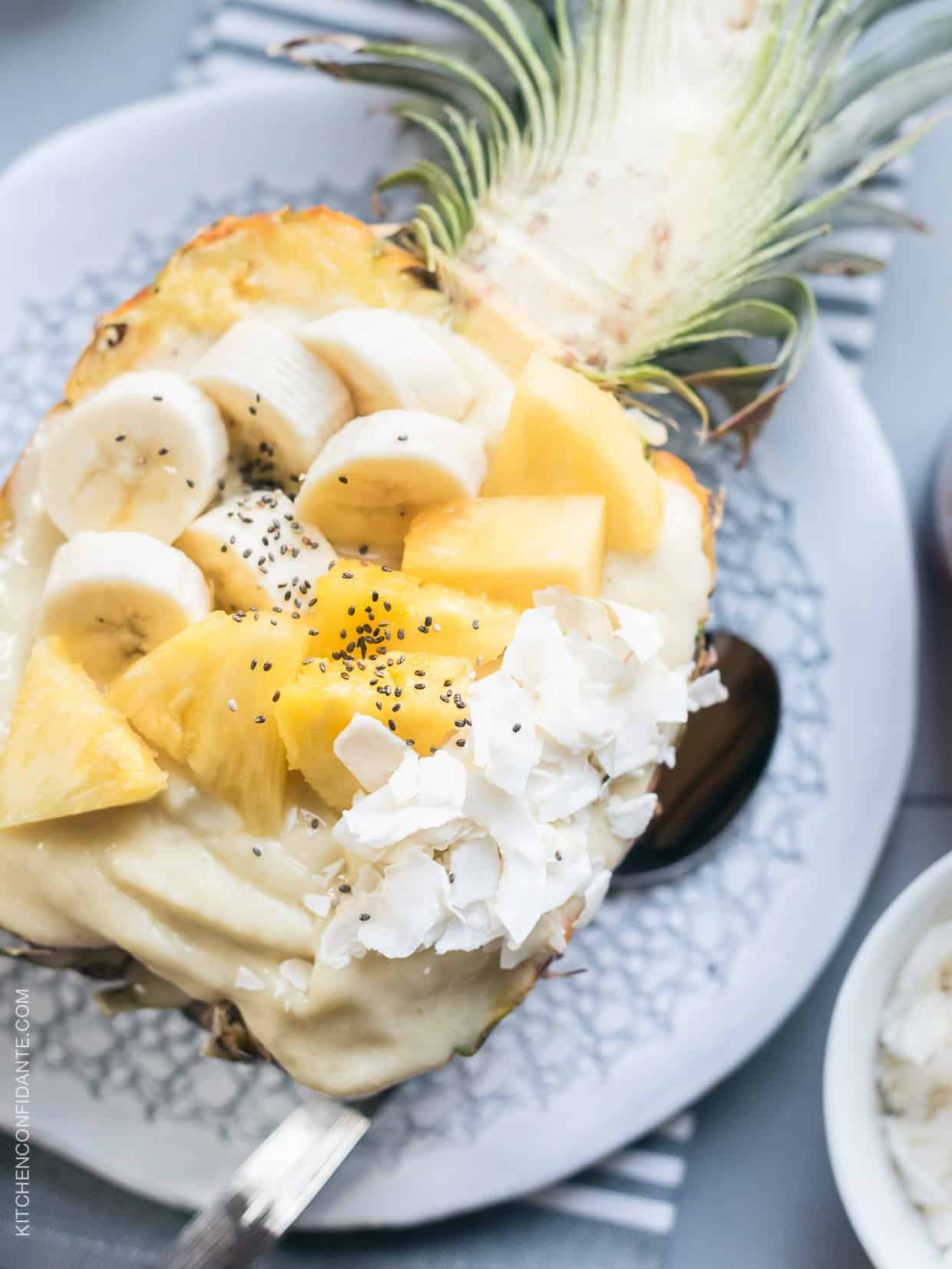 Smoothies are more fun by the spoonful. This recipe for a Pineapple Smoothie Bowl will keep you energized to conquer the day.