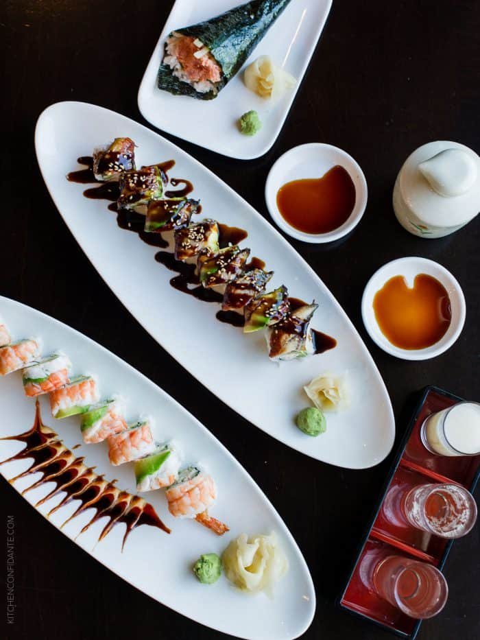 What goes best with sushi? The perfect sake, of course! I explore 3 delicious pairings.