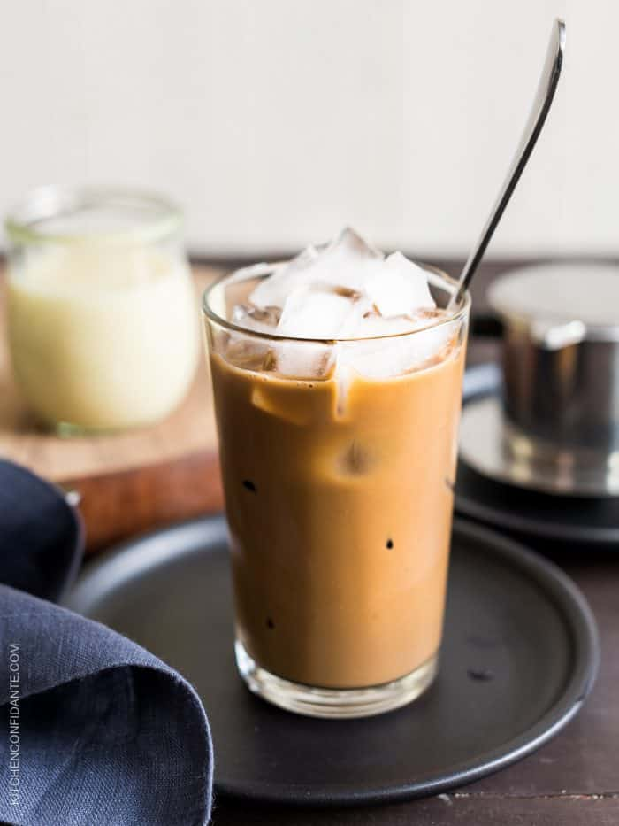 Sips of traditional Vietnamese Iced Coffee bring a minute of peace to your day. Try this easy recipe made with a simple phin filter for an authentic taste of Vietnam.