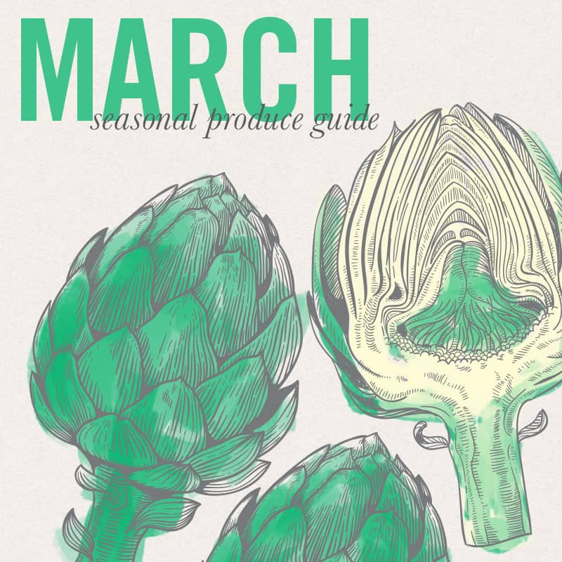 March Seasonal Produce Guide