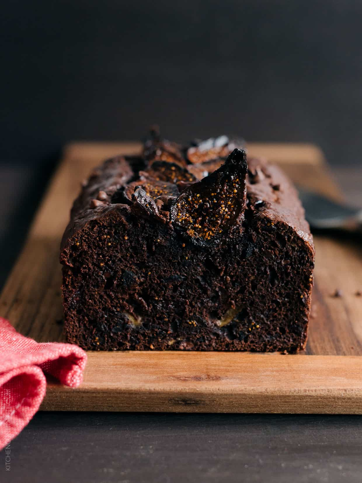 You'll love this simple recipe for Chocolate Banana Fig Bread .
