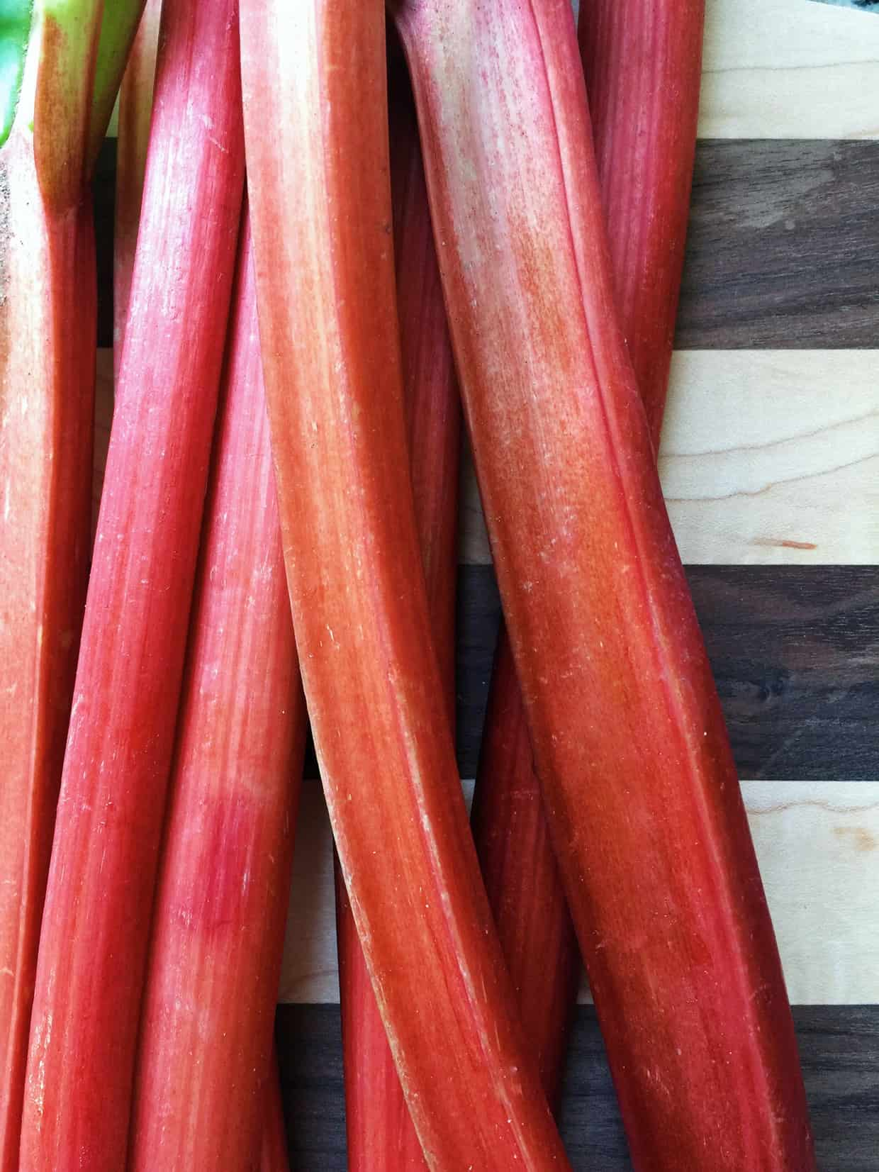 Rhubarb is one of the Five Little Things I loved the week of April 15, 2016.