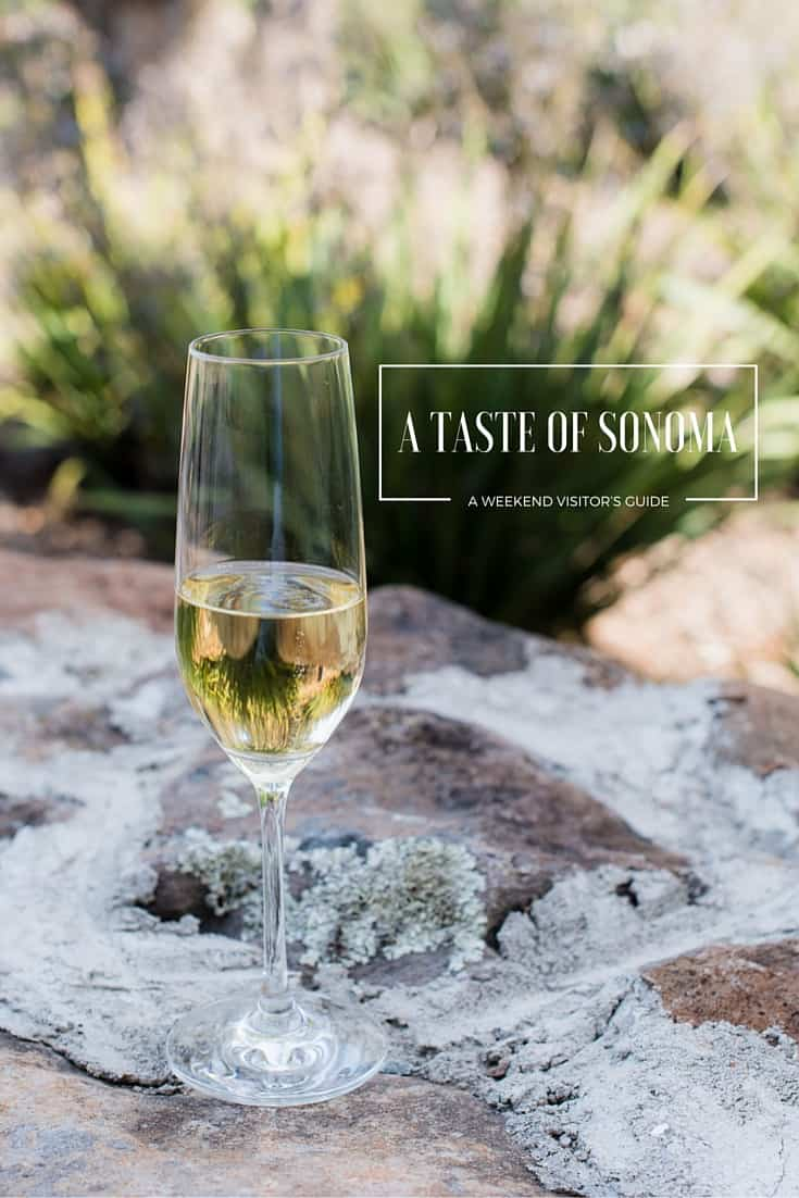 Planning a trip to San Francisco and wine country? Come join me for an insider's pick on places to sip, savor, stay and play in Sonoma!