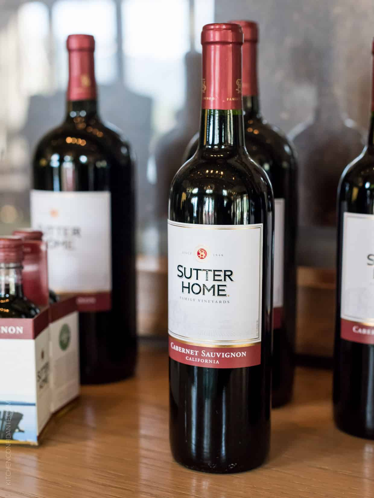Sutter Home wines at the Sutter Home 25th Annual Build a Better Burger Cookoff.