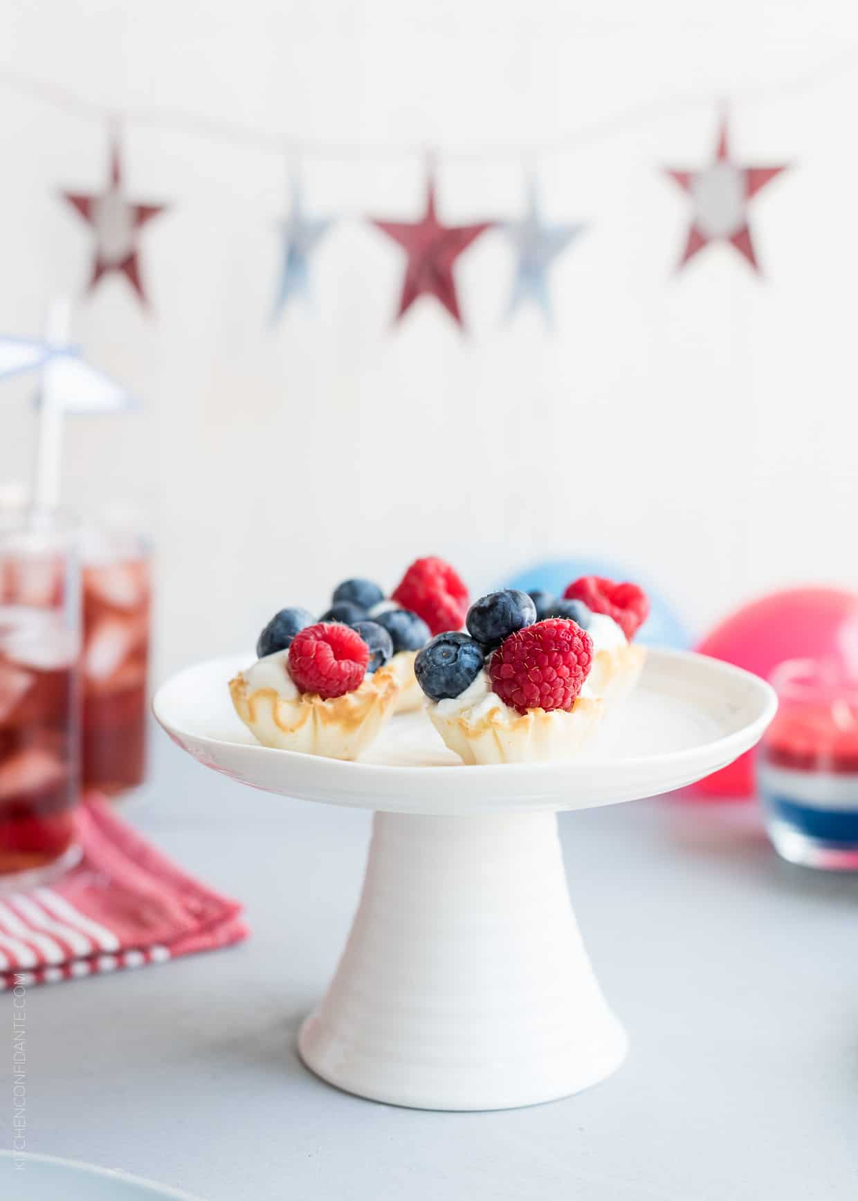 5 Ways to Go Red White and Blue for the 4th of July - fun and festive in a flash!