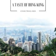 A TASTE OF HONG KONG (1)