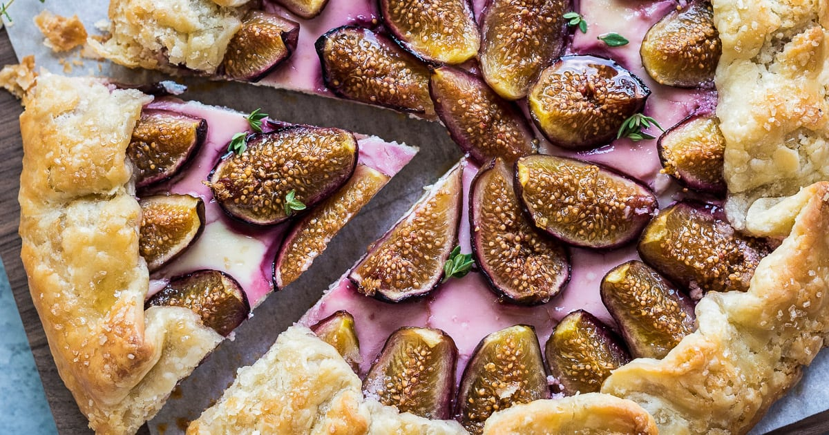 Fig And Lavender Goat Cheese Galettes Recipe — Dishmaps