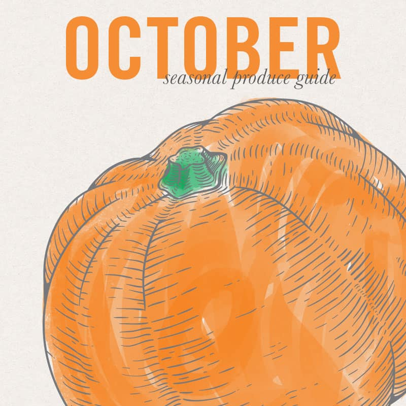 October Eat Seasonal Produce Guide