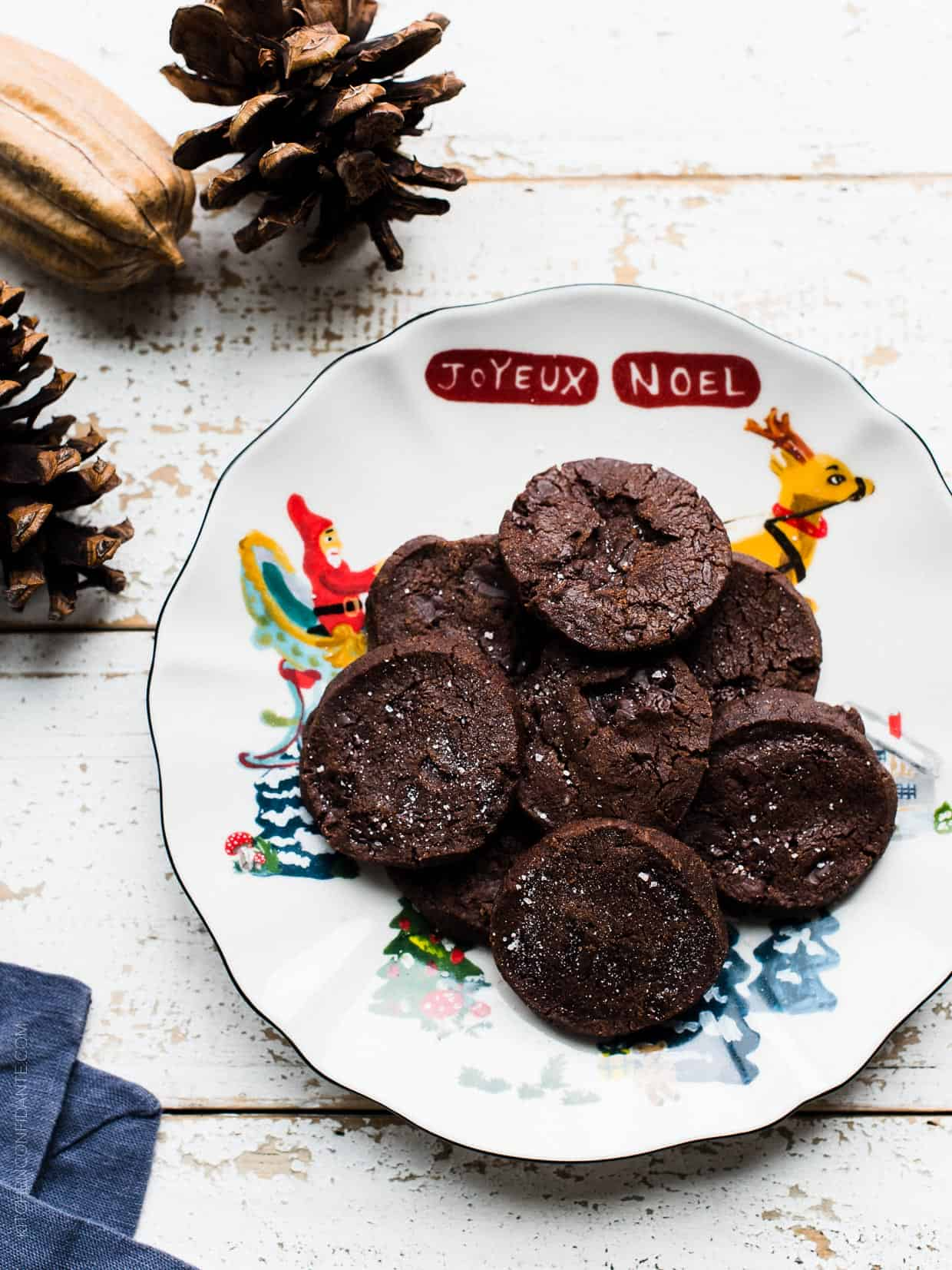 If there's a cookie that could live up to it's name, Dorie Greenspan's World Peace Cookies might be it, especially for salted dark chocolate cookie lovers.