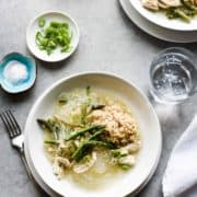 On cold winter nights, turn to this comforting Filipino Chicken and Asparagus Sotanghon (Glass Noodle) Soup. It warms you up and nourishes from within.