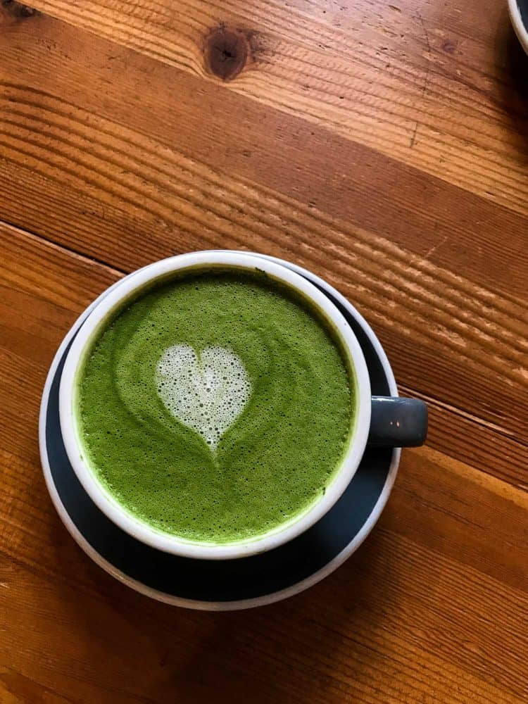 Matcha Lattes - one of Five Little Things I loved the week of February 10, 2017.