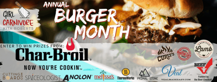 Fire up the grill, it's Burger Month 2017!