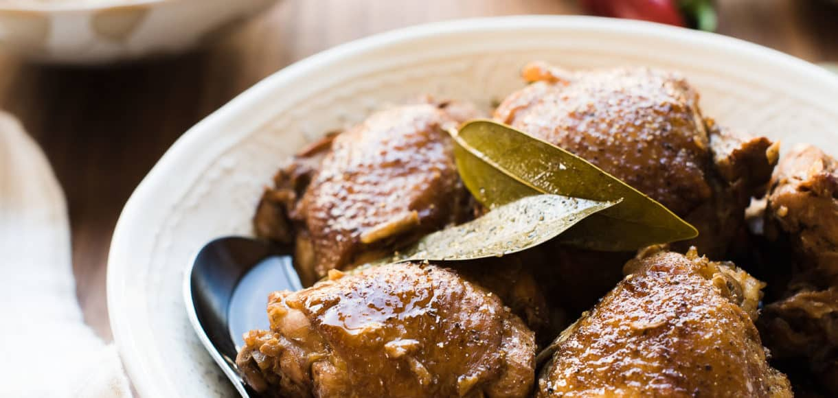 Filipino Chicken Adobo may be the national dish of the Philippines, but the variations are endless. This is my beloved family recipe for authentic chicken adobo.