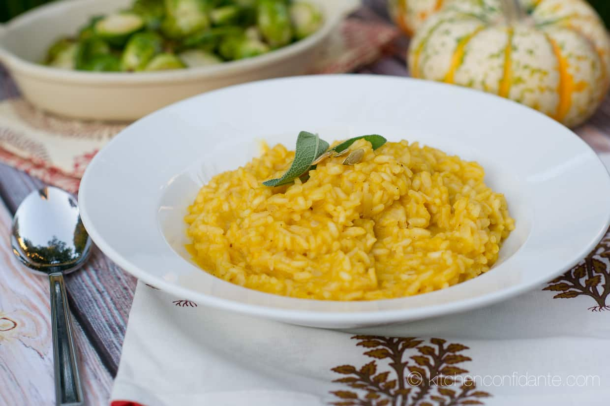 Spiced Pumpkin Coconut Risotto