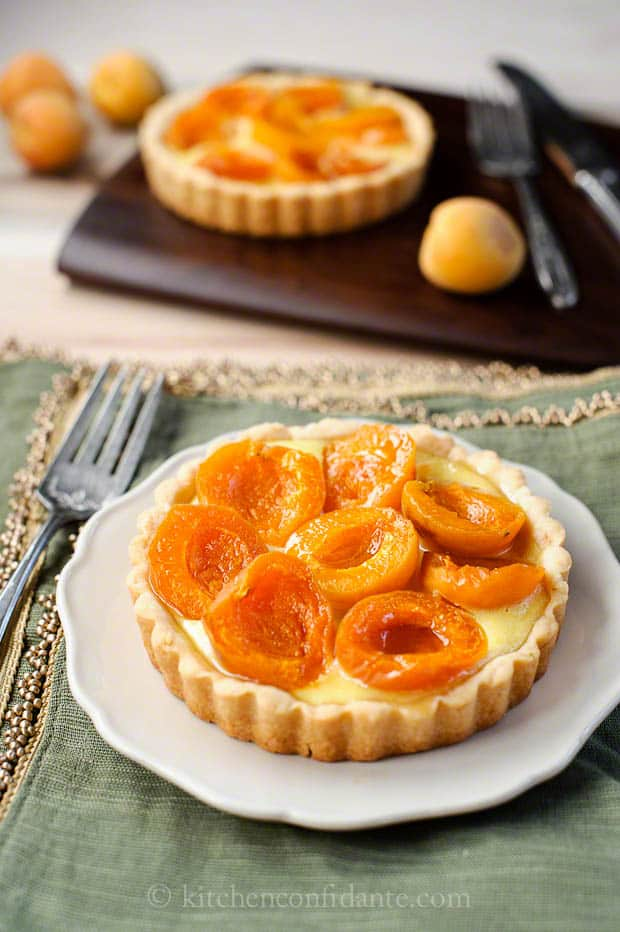 CandyCot Apricot Cream Tartlets