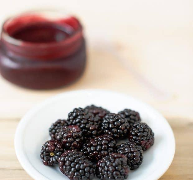 99360b78d0b5 Sticky Blackberry Barbecued Pork Ribs
