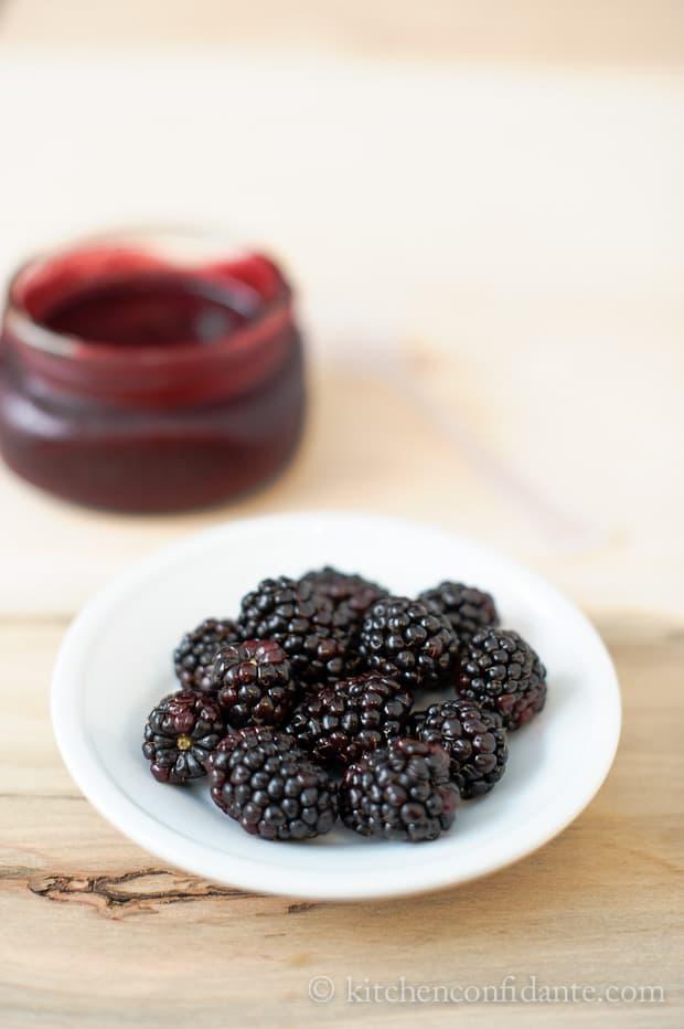 Sticky Blackberry Barbecued Pork Ribs