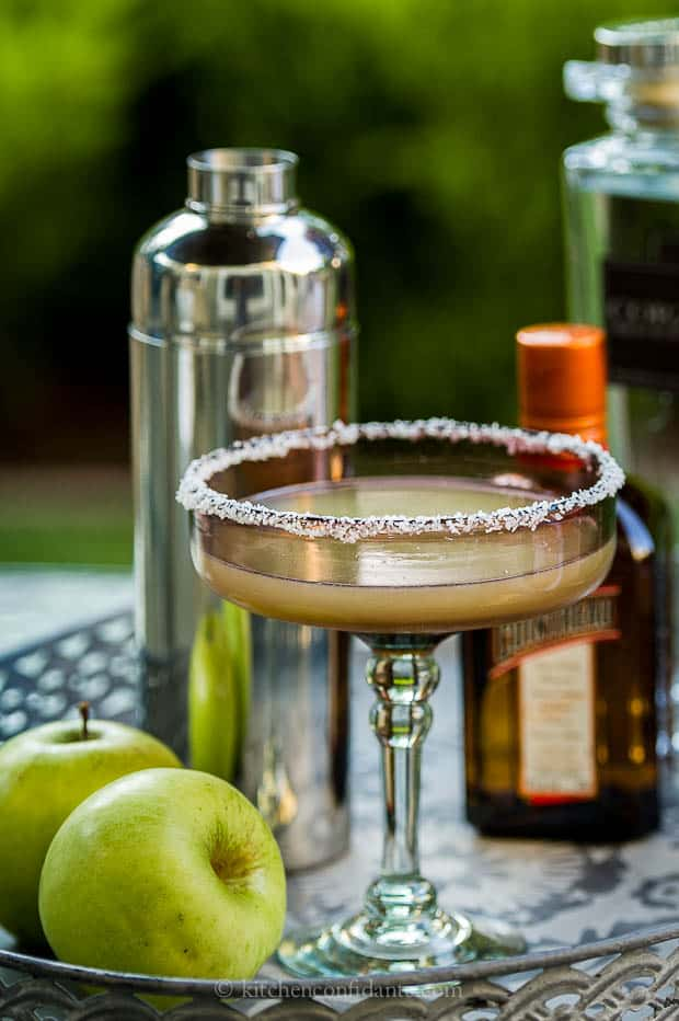 Green Apple Margarita | Kitchen Confidante