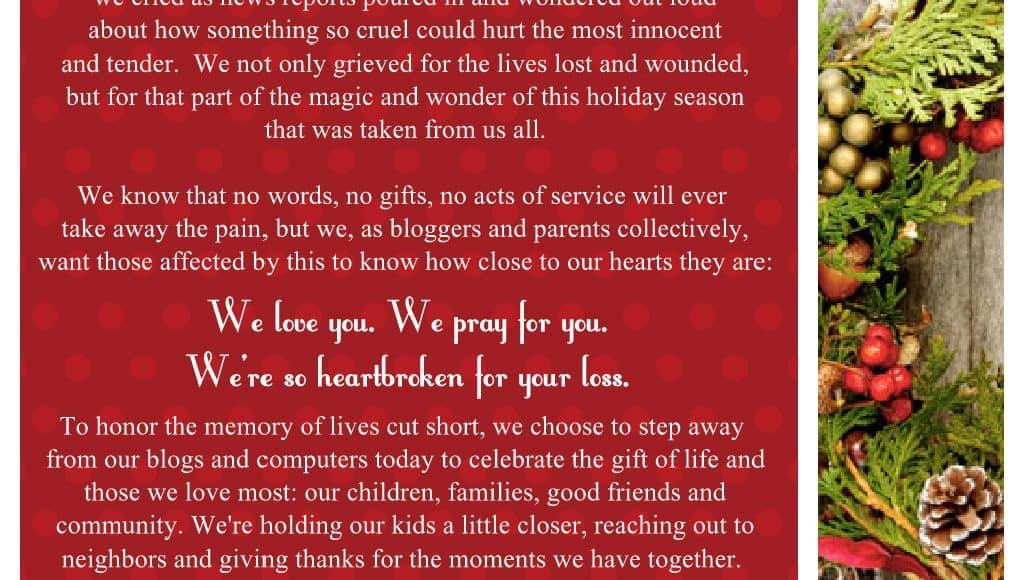 Sandy Hook Elementary | Social Media Day of Silence