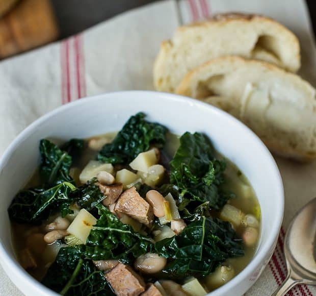 Kale Parsnip & Sausage Soup   Kitchen Confidante