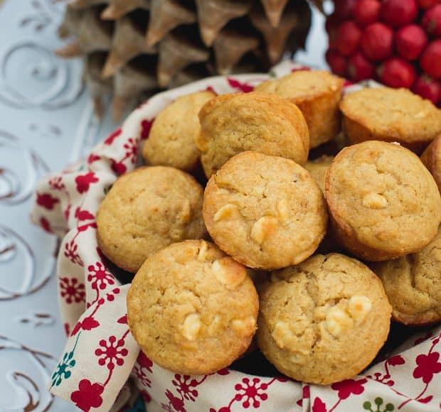 White Chococolate Graham Cracker Muffins   Kitchen Confidante