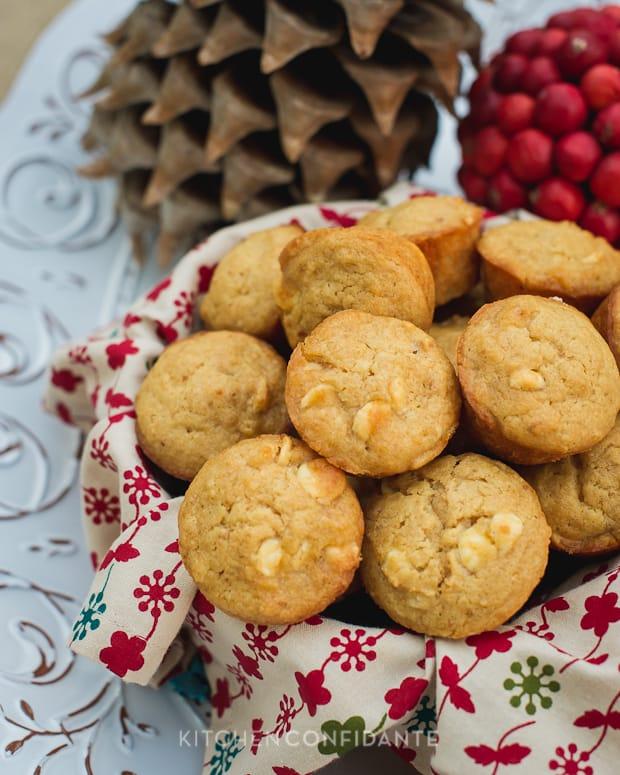 White Chocolate Graham Cracker Muffins
