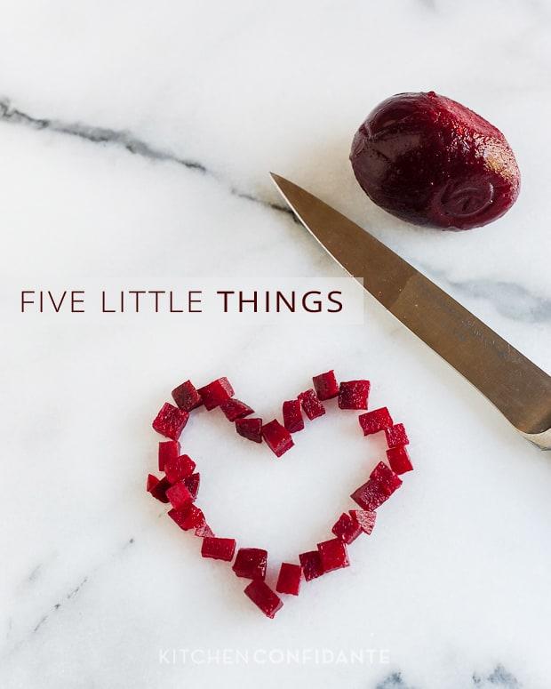 Beet Heart | Kitchen Confidante | Five Little Things