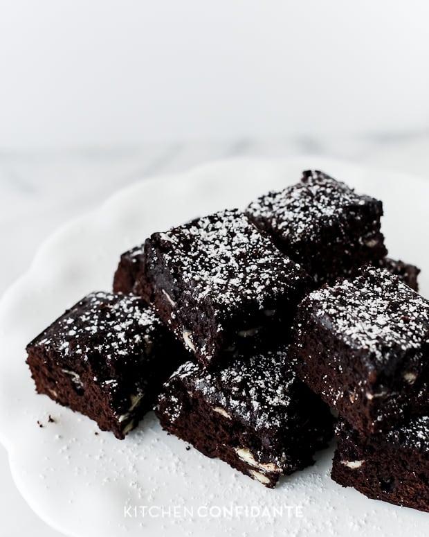 Fudgy Jam Brownies
