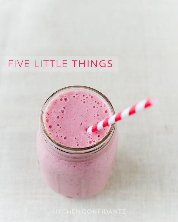 Strawberry Banana Soy Smoothie | Kitchen Confidante