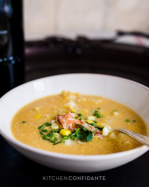 Thai-Style Crab & Corn Chowder