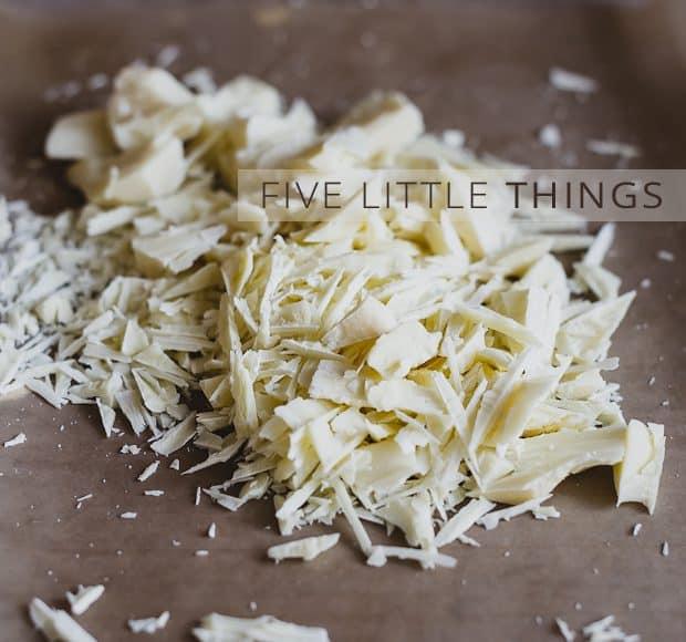 Five Little Things | Kitchen Confidante | White Chocolate