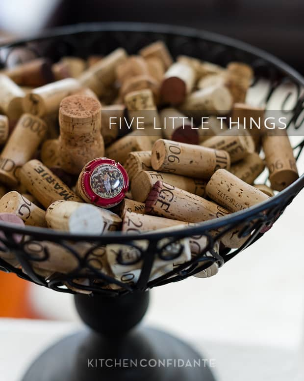 Five Little Things | Kitchen Confidante | Wine Corks