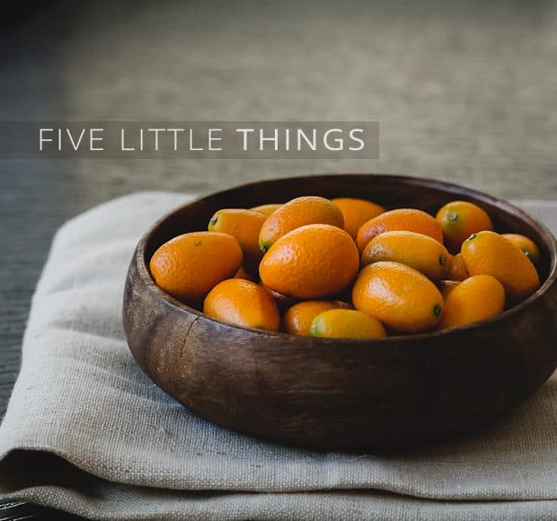 Five Little Things | Kumquat Still Life | Kitchen Confidante