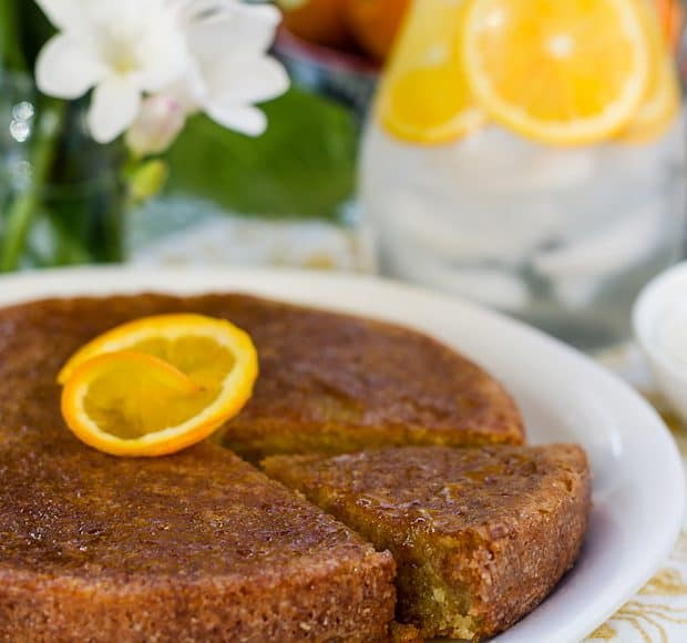 Moroccan Orange Cake Clodagh Mckenna