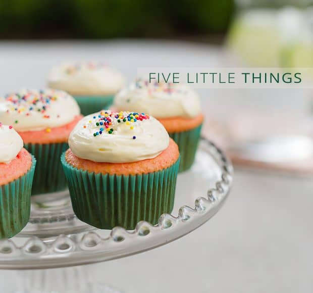 Five Little Things | Kitchen Confidante | May 3, 2013