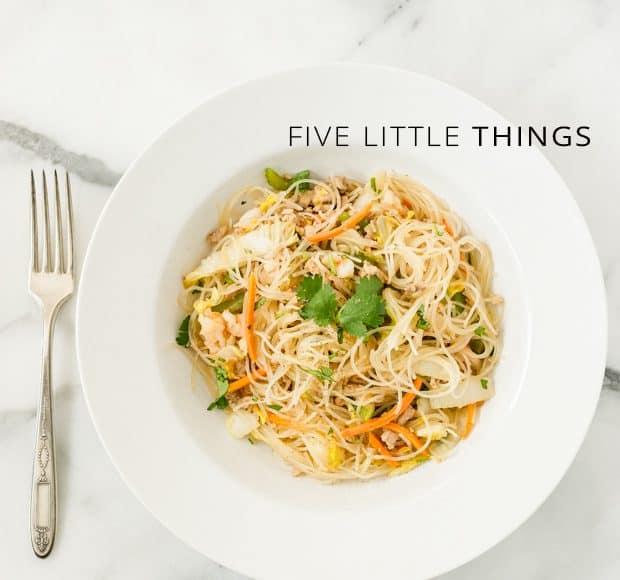 Five Little Things, May 10, 2013 | Kitchen Confidante | Pancit Bihon