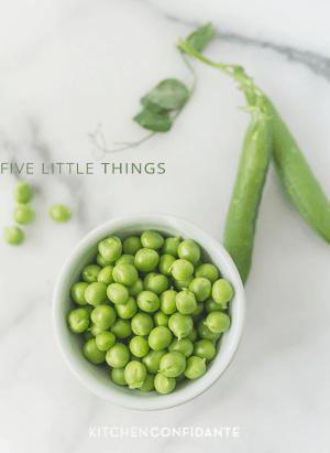Five Little Things | www.kitchenconfidante.com | July 12, 2013