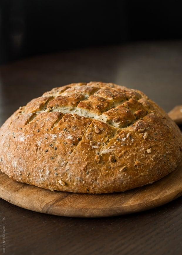 Seed Bread | www.kitchenconfidante.com