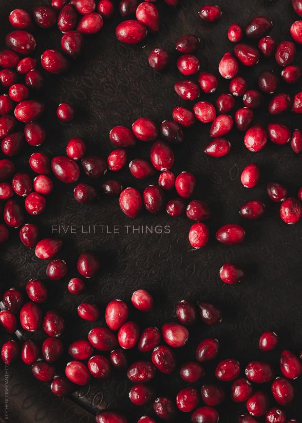 Cranberries | www.kitchenconfidante.com