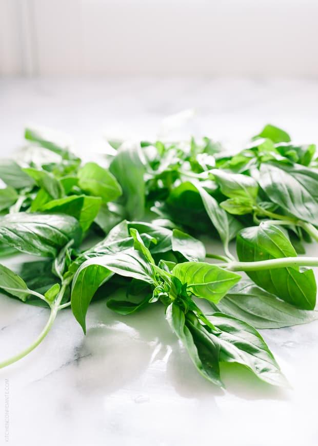 Fresh Basil | Five Little Things - April 18, 2014 | www.kitchenconfidante.com